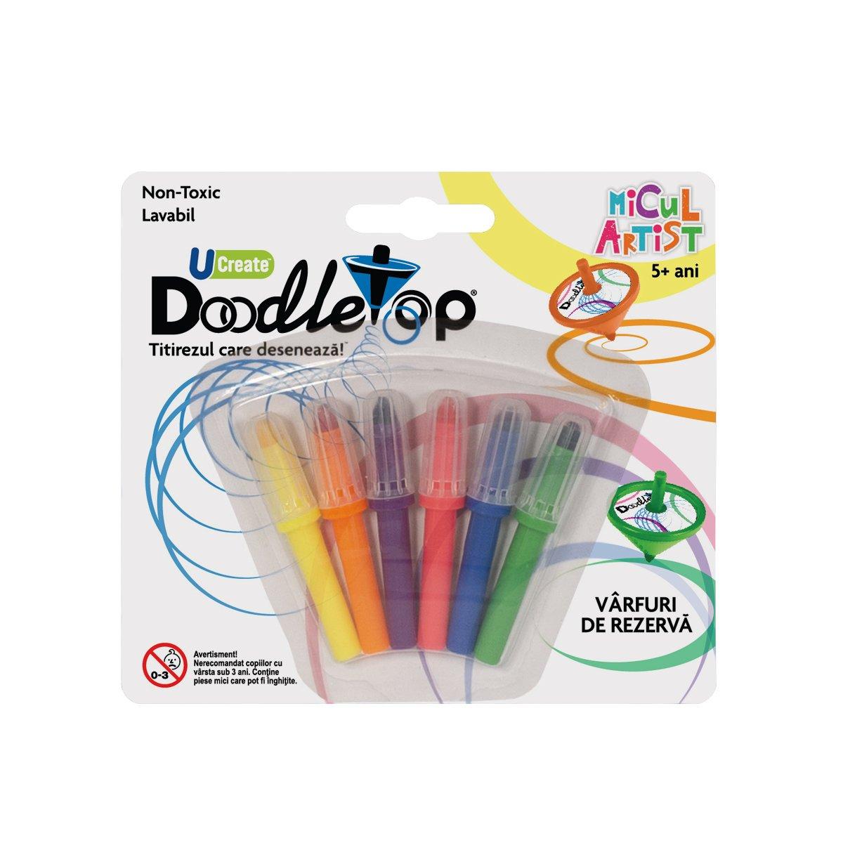 Varfuri de rezerva pentru titirez Doodletop, Micul Artist
