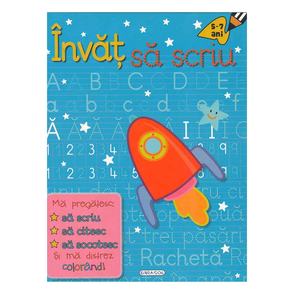 Carte Editura Girasol, Invat sa scriu