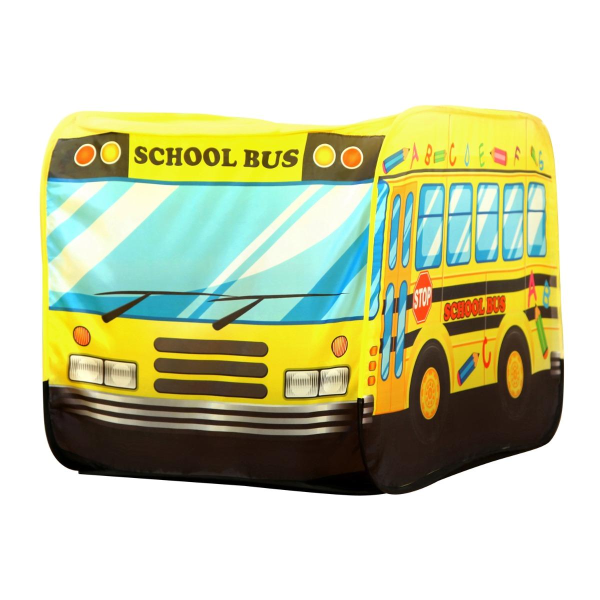 Cort pentru copii Iplay-Toys School Bus