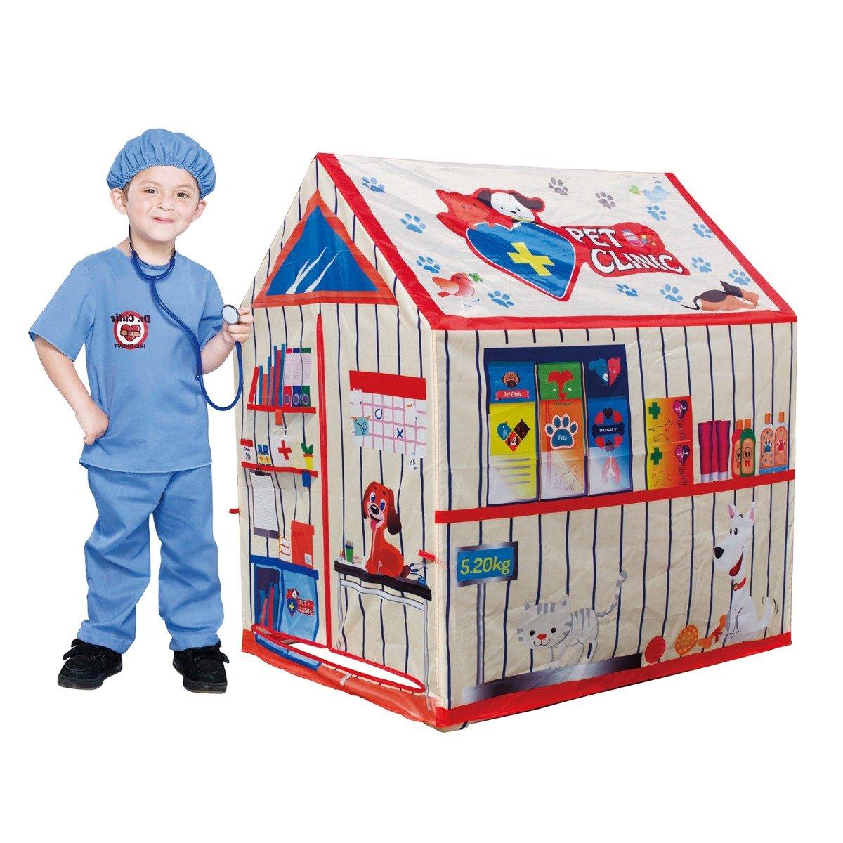 Cort pentru copii Iplay-Toys Pets Clinic Tent