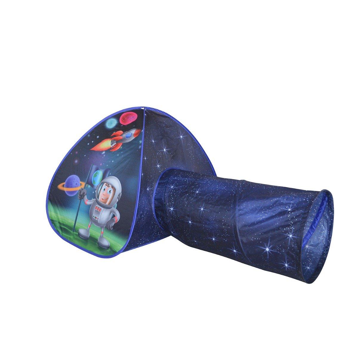 Cort cu tunel pentru copii Iplay-Toys Space