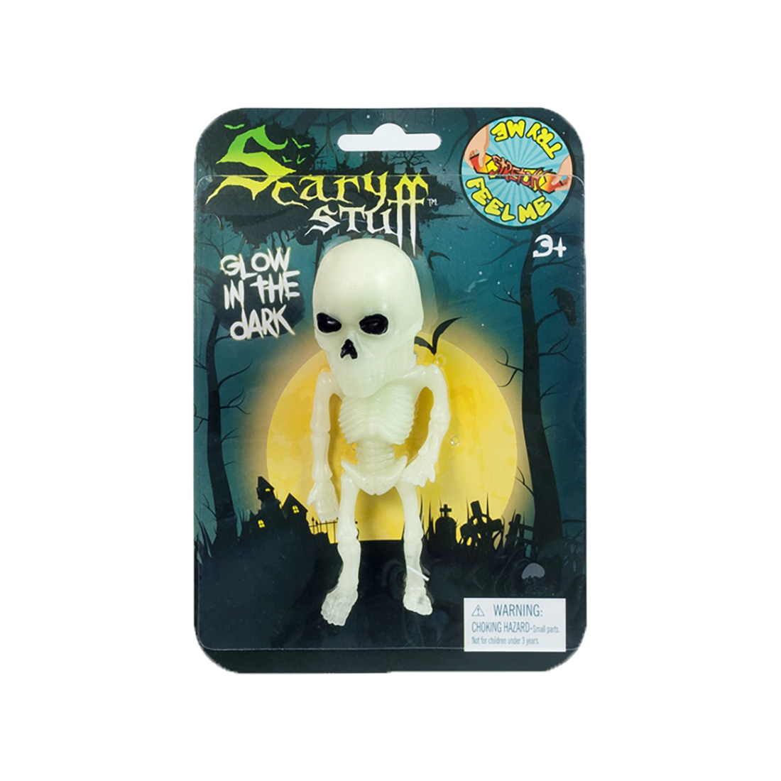 Figurina elastica fosforescenta Toy Major - Scary Stuff