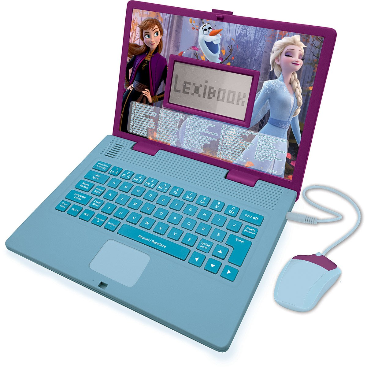 Laptop Educational Lexibook Disney Frozen 2, 124 De Activitati
