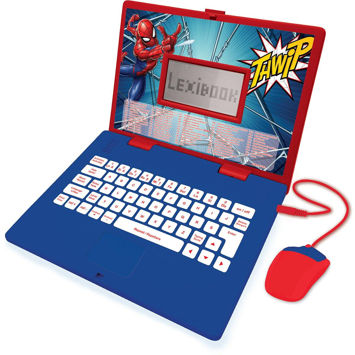 Laptop educational Lexibook Spiderman, 124 de activitati