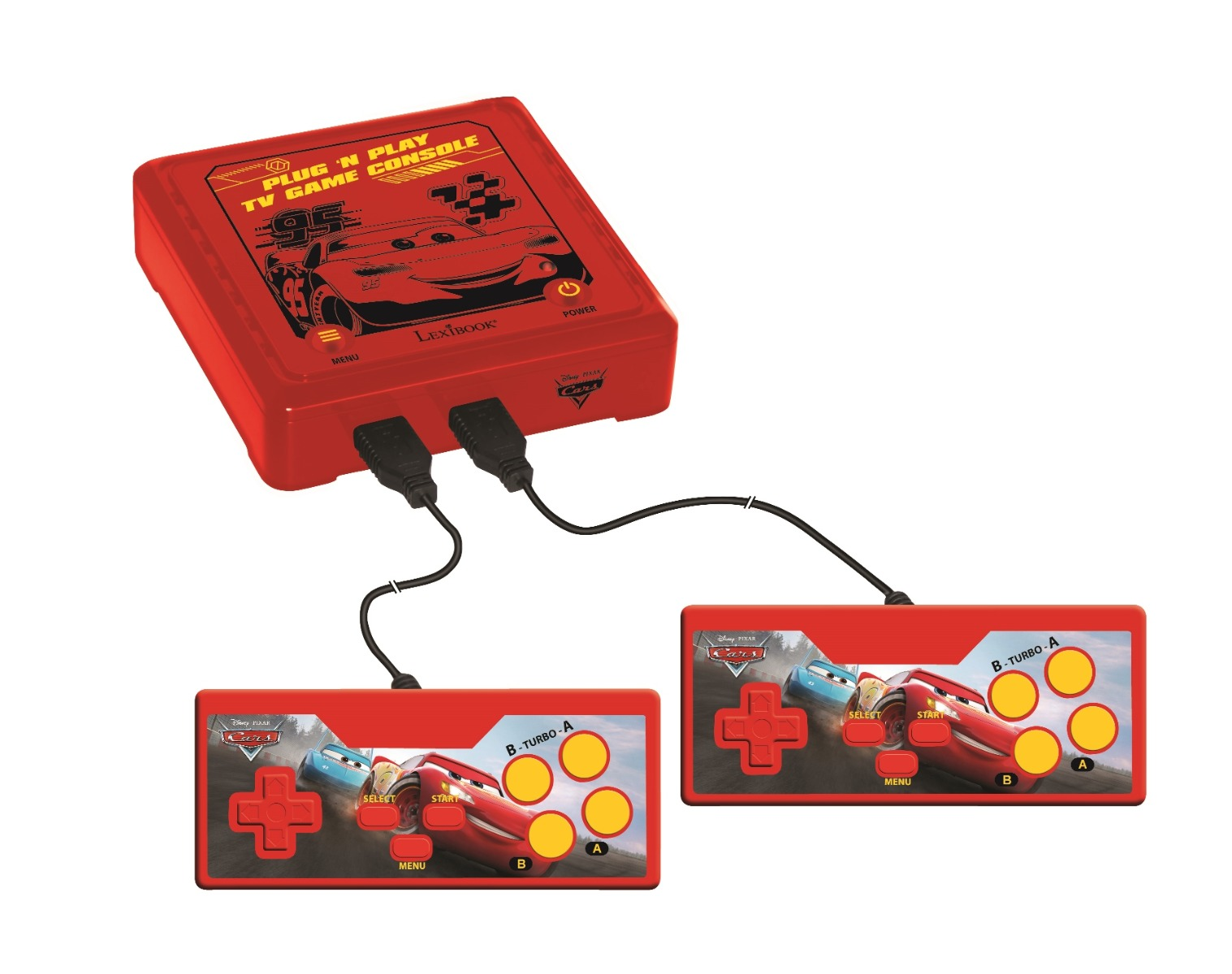Consola TV Plug N'Play Disney Cars, 300 jocuri