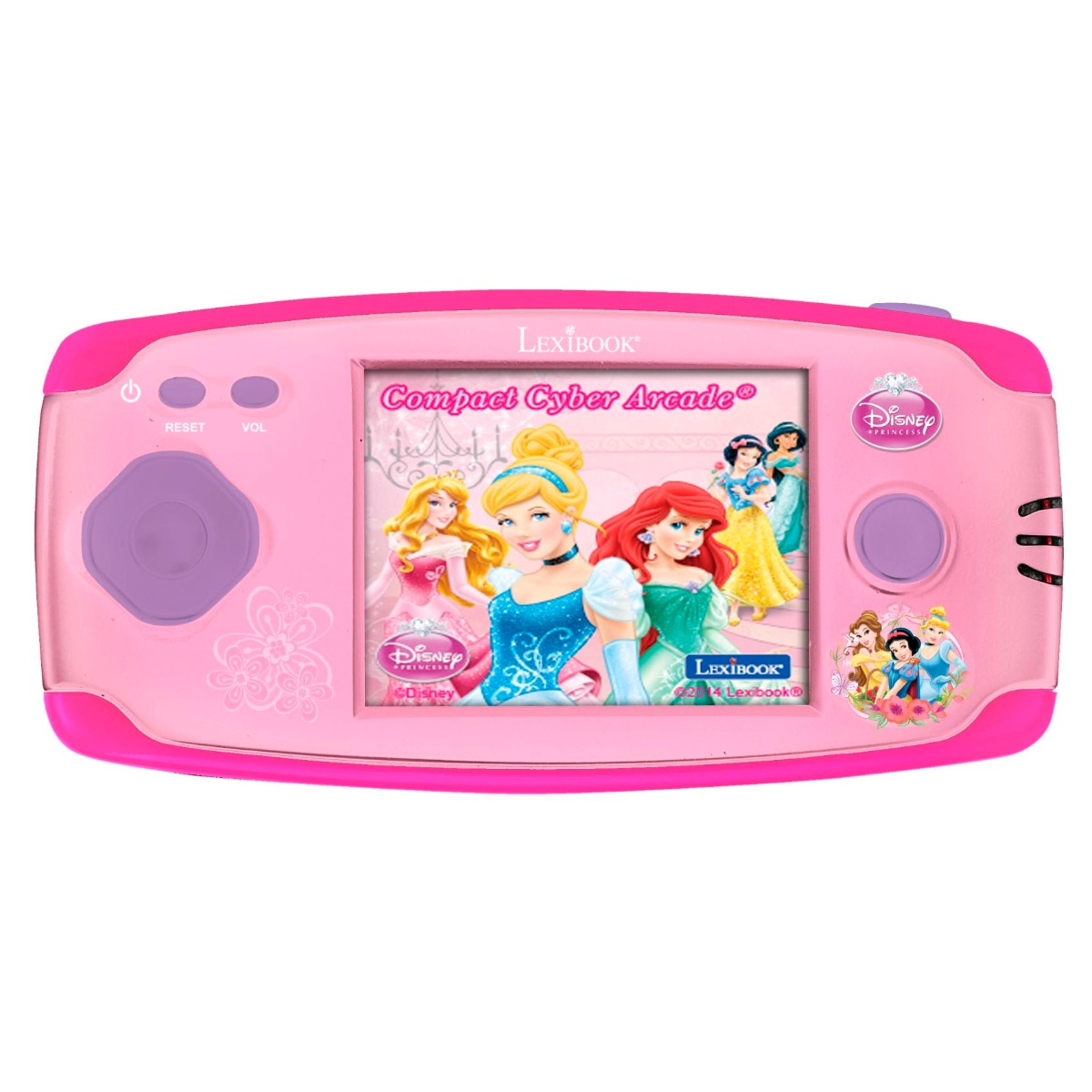 Consola portabila Cyber Arcade Disney Princess, 150 jocuri