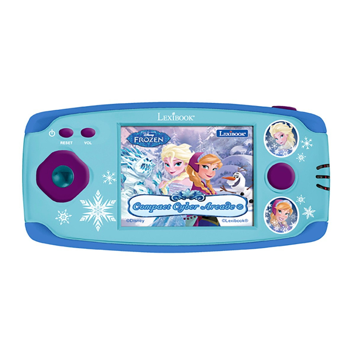Consola portabila Cyber Arcade Disney Frozen, 150 jocuri