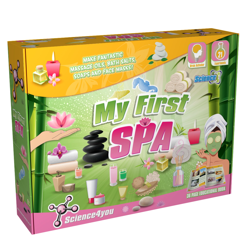Joc educativ Science4you, primul meu set de SPA