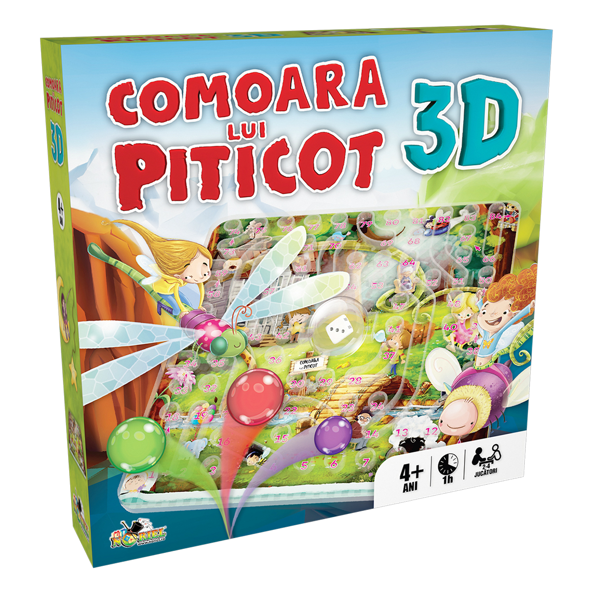 Joc Noriel Comoara Lui Piticot, 3d