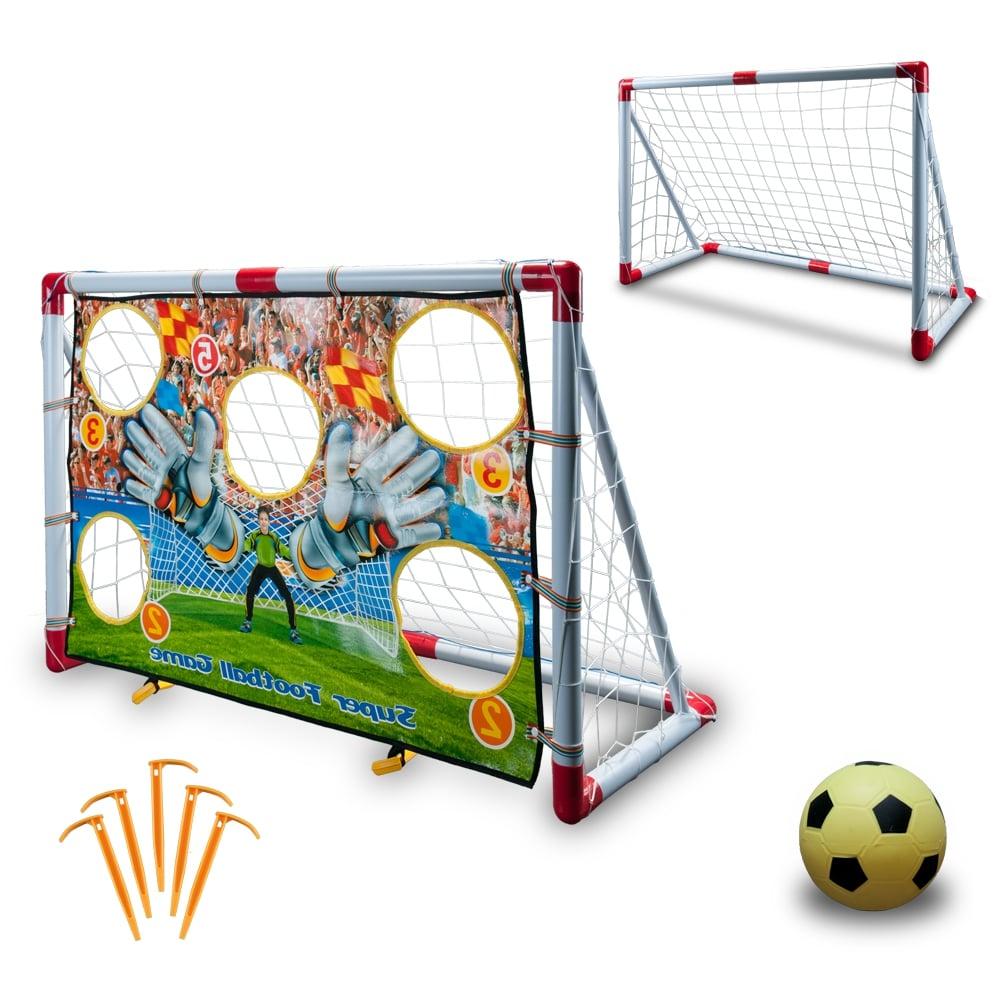 Set poarta si minge de fotbal King Sport