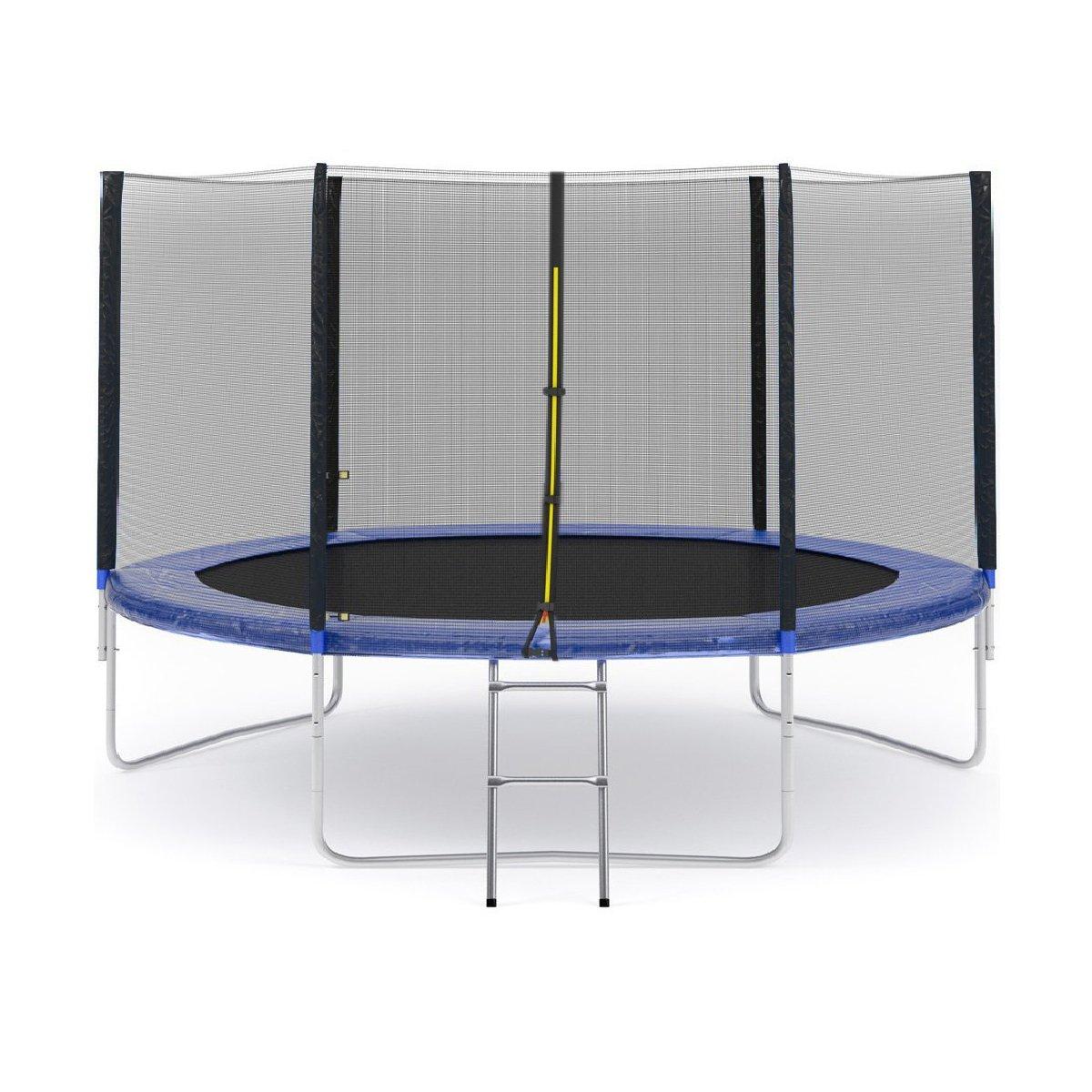 Trambulina pentru copii cu scara 305 cm Action, Albastru