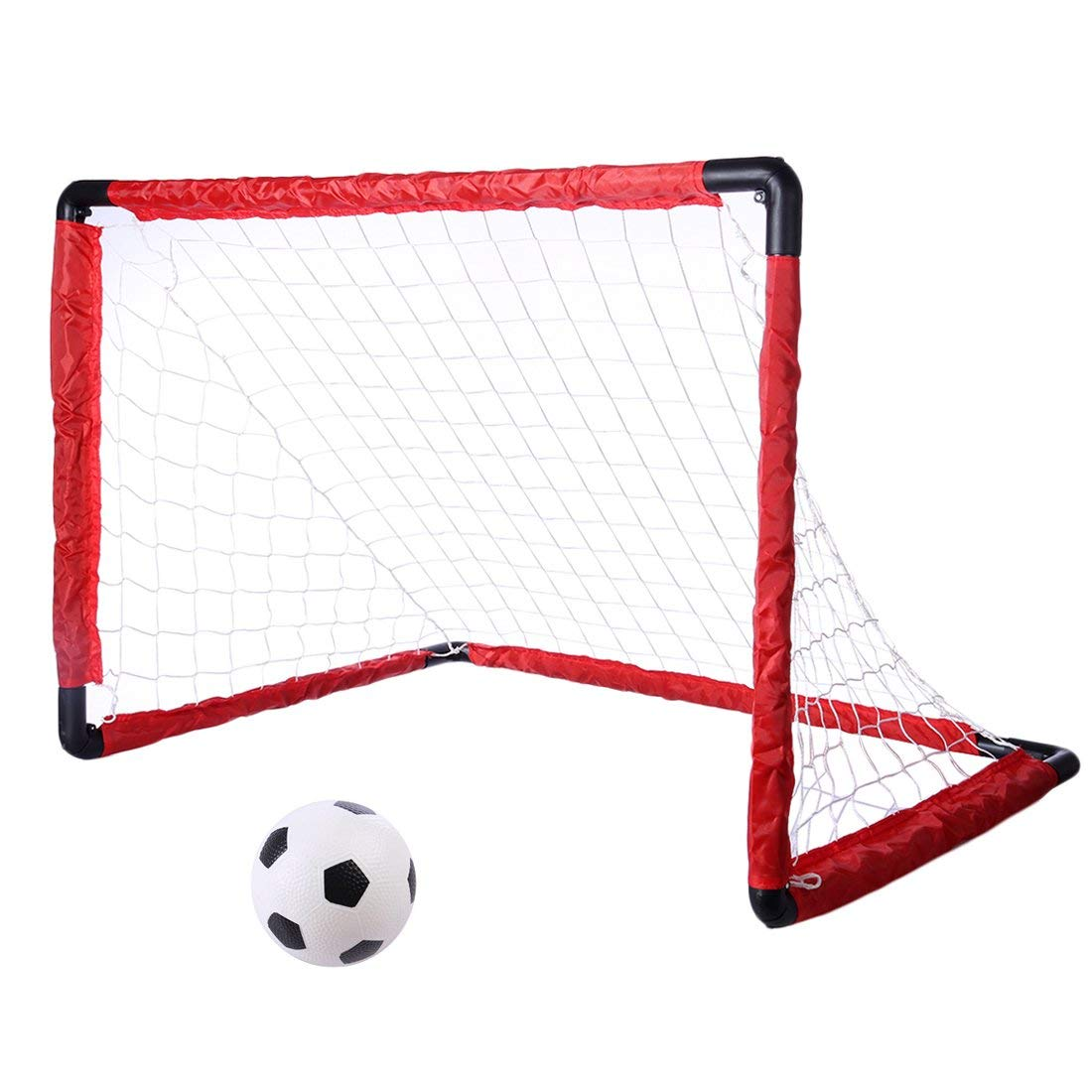 Set poarta pliabila si minge de fotbal King Sport