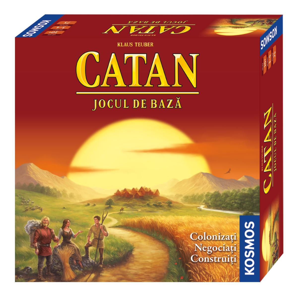 Joc de societate Catan - jocul de baza