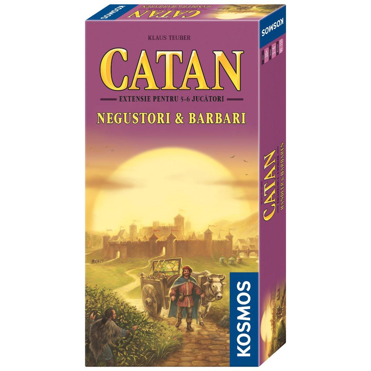 Colonistii din Catan - Negustori si Barbari - Extensie (5-6 jucatori)