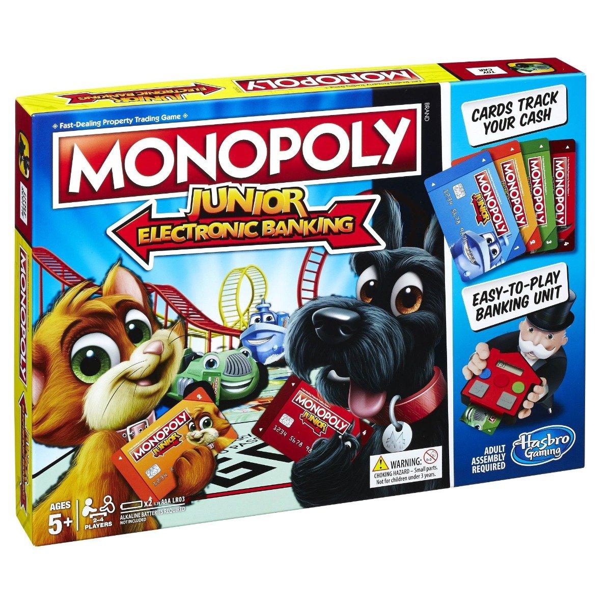 Joc de societate Monopoly Junior - Electronic Banking
