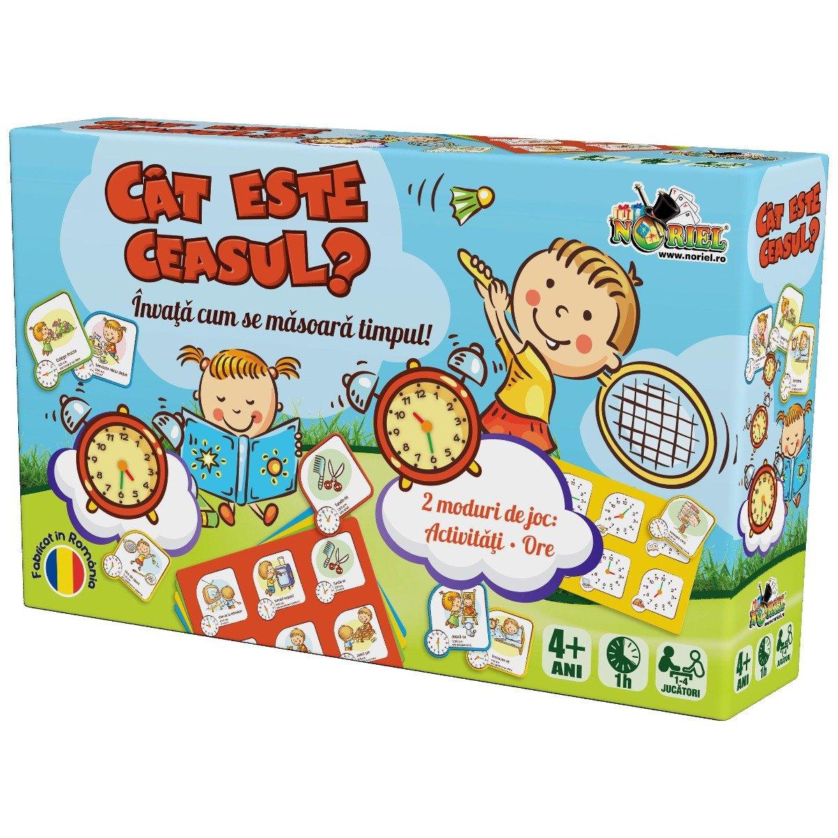 Joc educativ Noriel - Cat este ceasul?