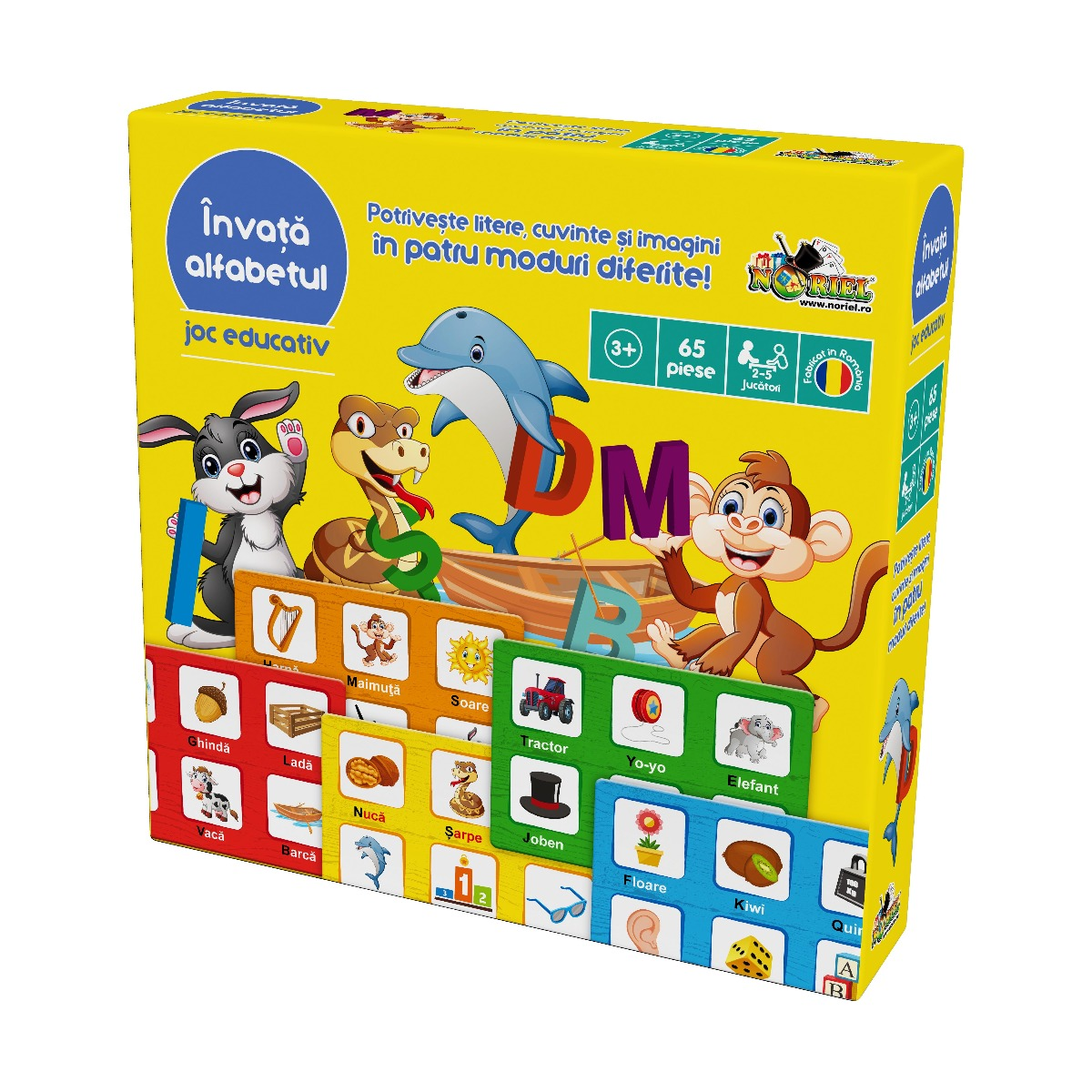 Joc educativ Noriel - Invata alfabetul
