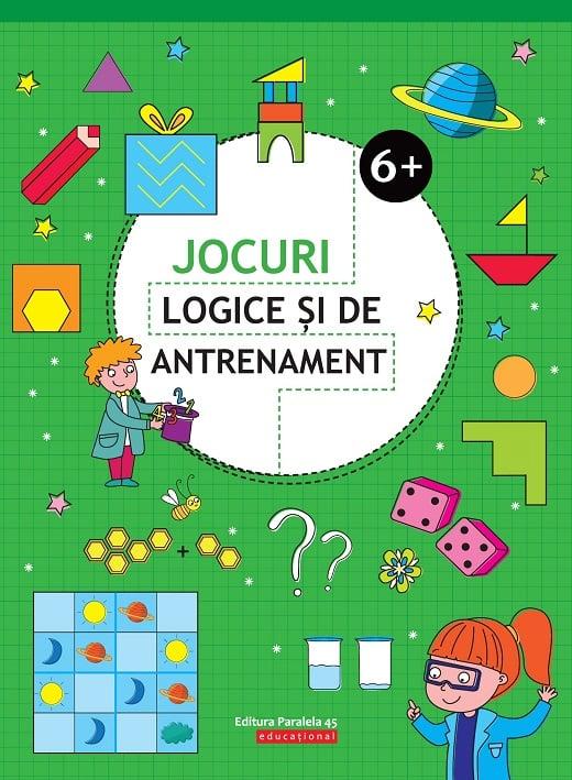 Jocuri logice si de antrenament. 6 ani+, Ballon Media