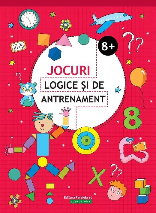 Jocuri logice si de antrenament. 8 ani+, Ballon Media