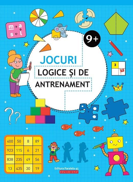 Jocuri logice si de antrenament. 9 ani+, Ballon Media