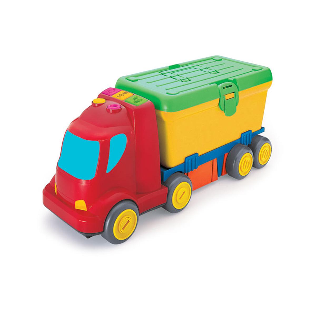 Jucarie bebelusi - Camion cu set de scule