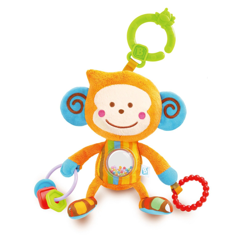jucarie bebelusi cu activitati b-kids - maimutica bebee