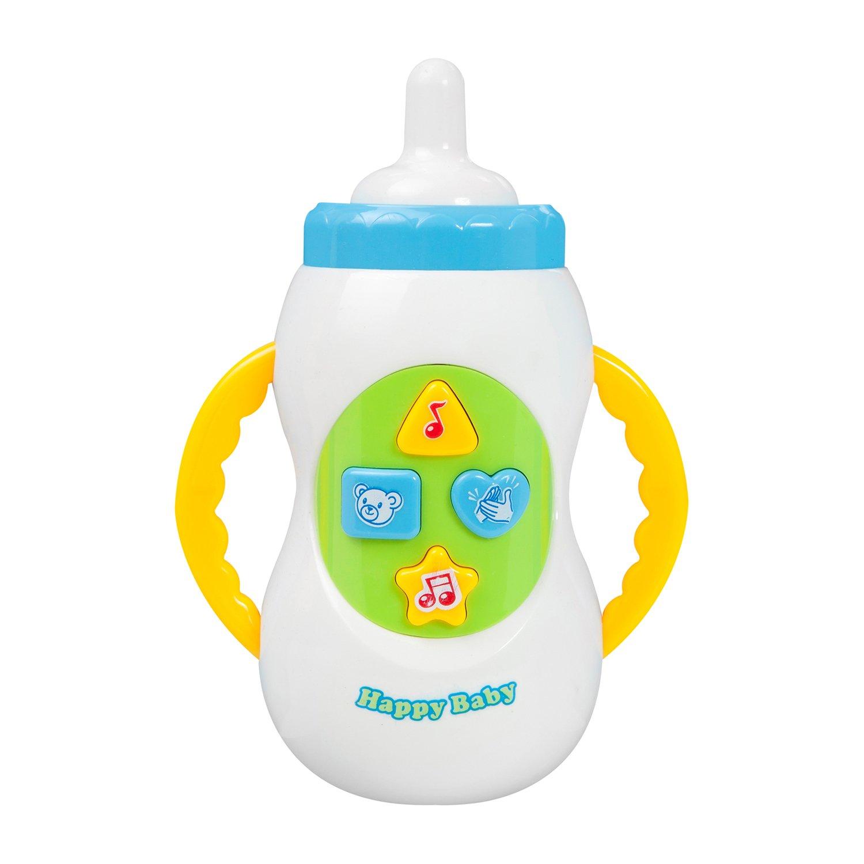 jucarie bebelusi noriel bebe - biberon cu lumini si sunete