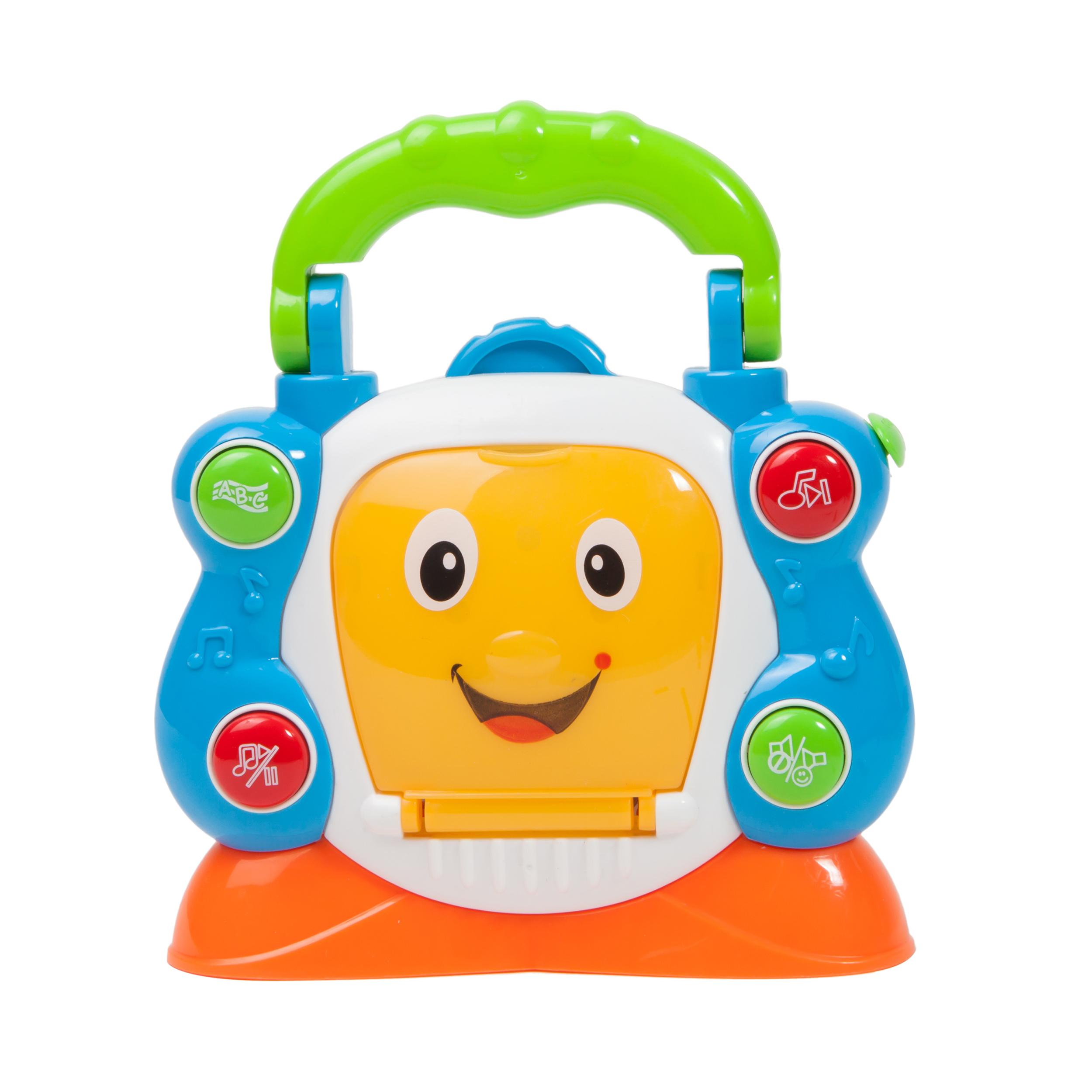 jucarie bebelusi noriel bebe - cd player cu lumini si sunete