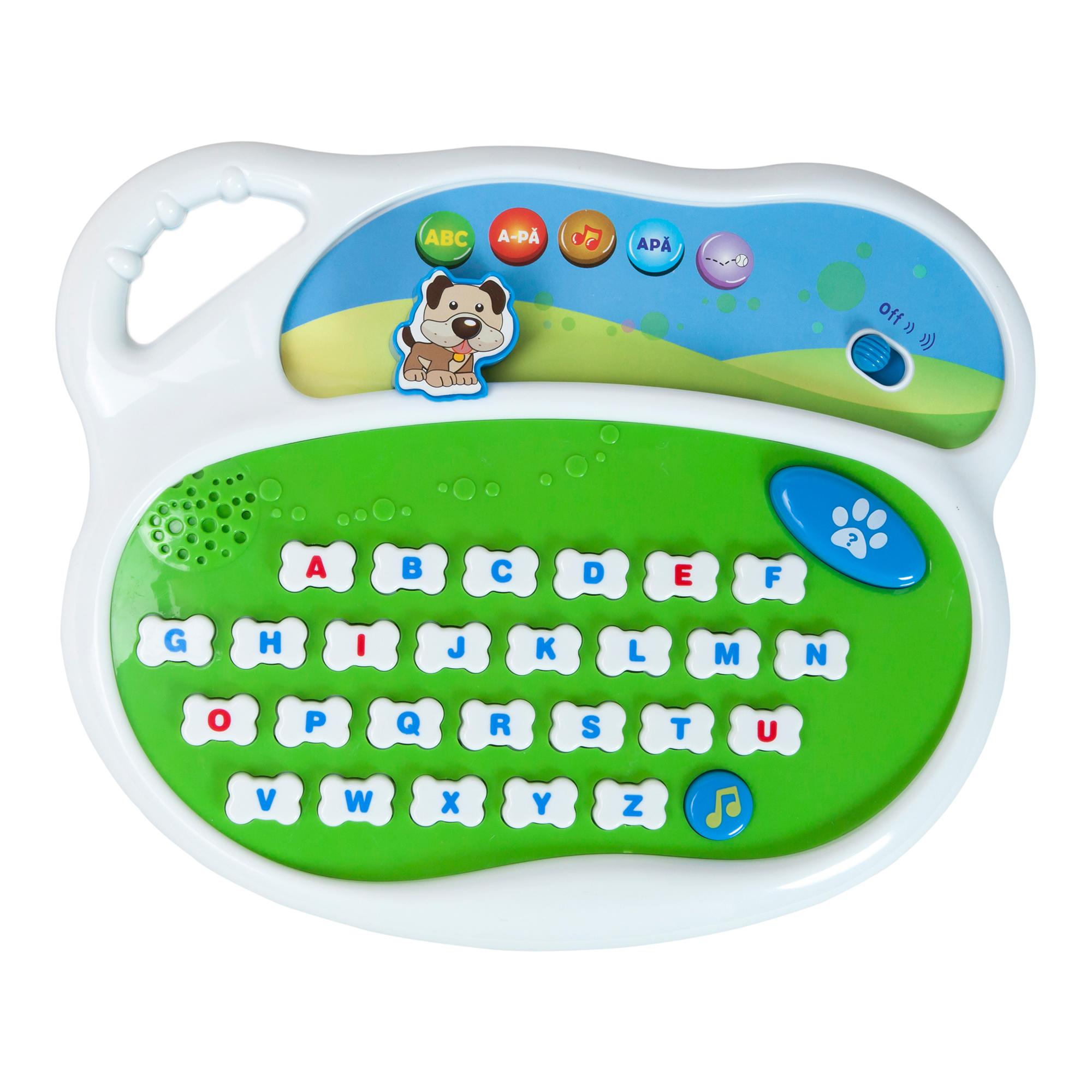 jucarie bebelusi noriel bebe - invata cu mine alfabetul