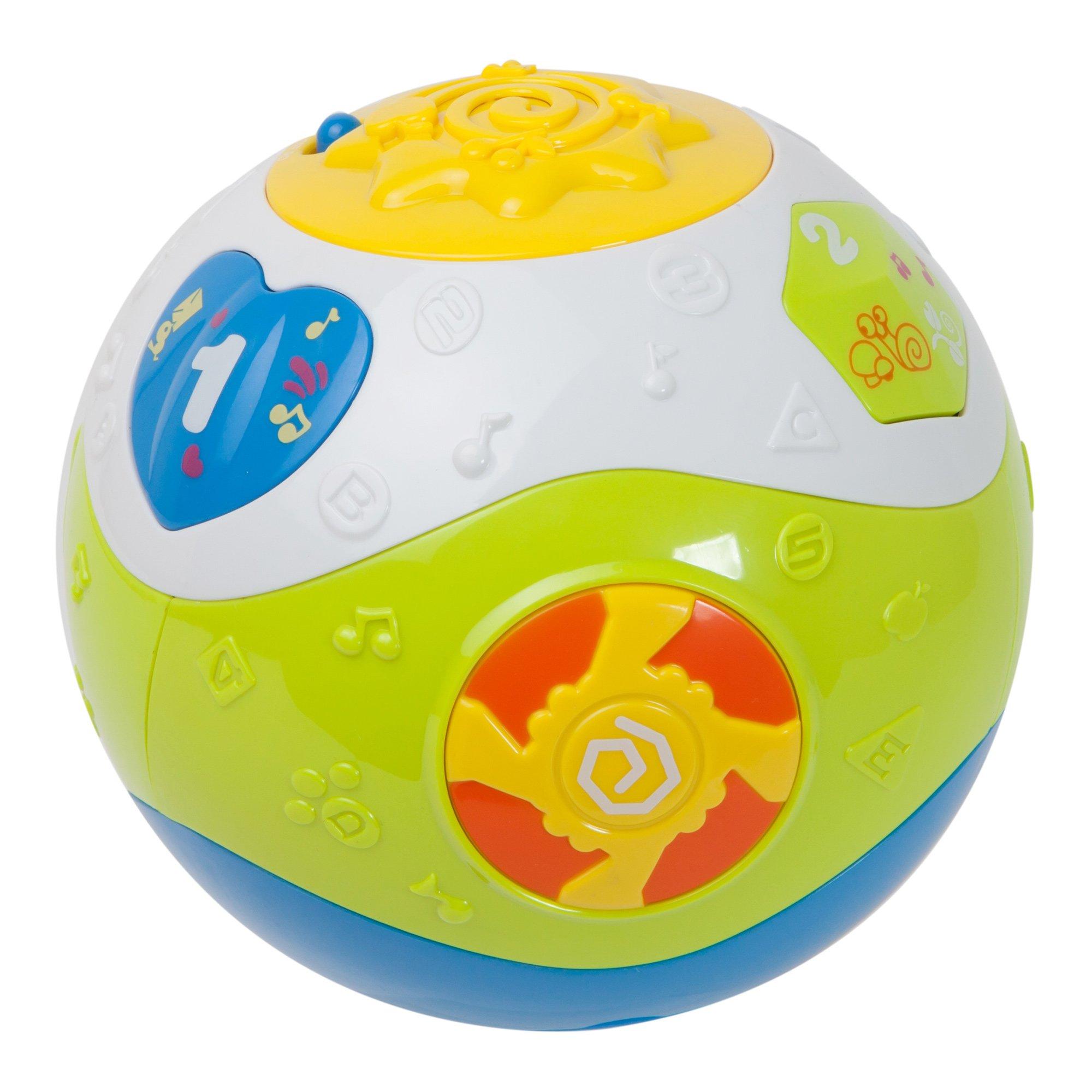 jucarie bebelusi noriel bebe - minge cu activitati