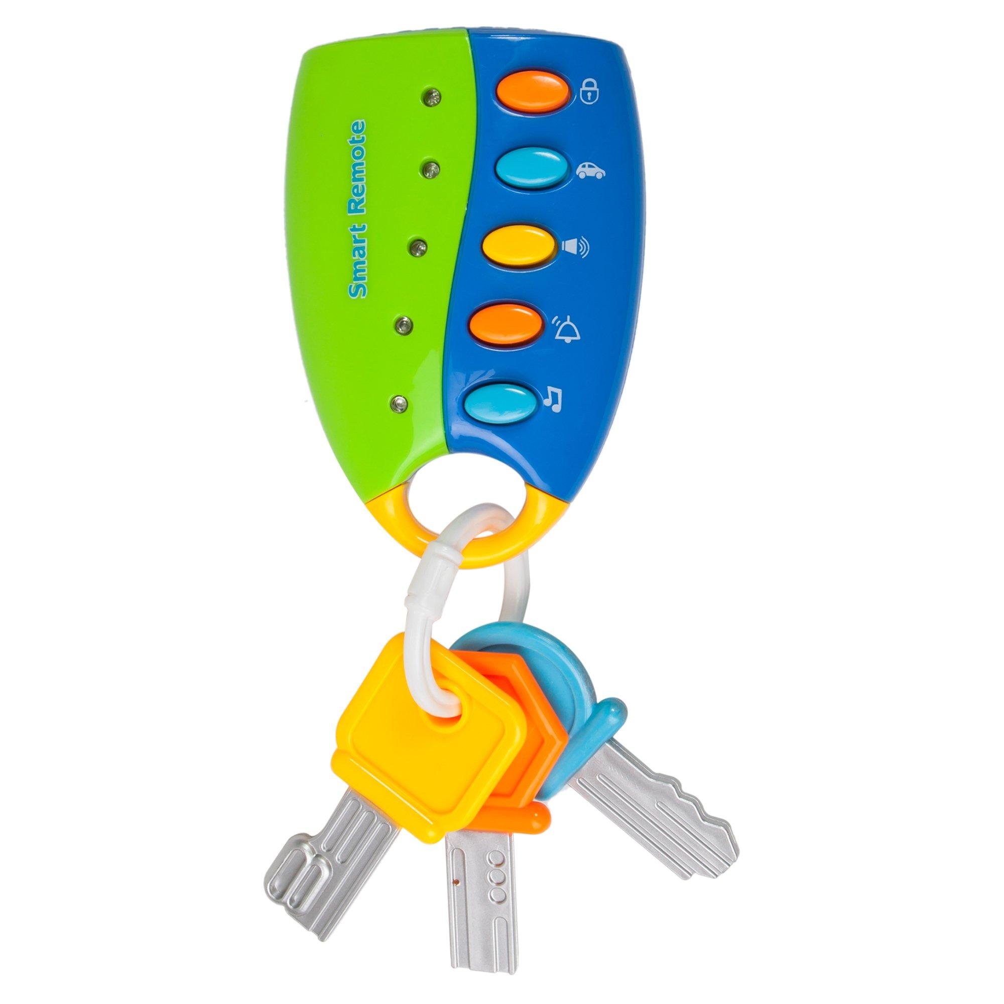 jucarie bebelusi noriel bebe - telecomanda cu lumini si sunete