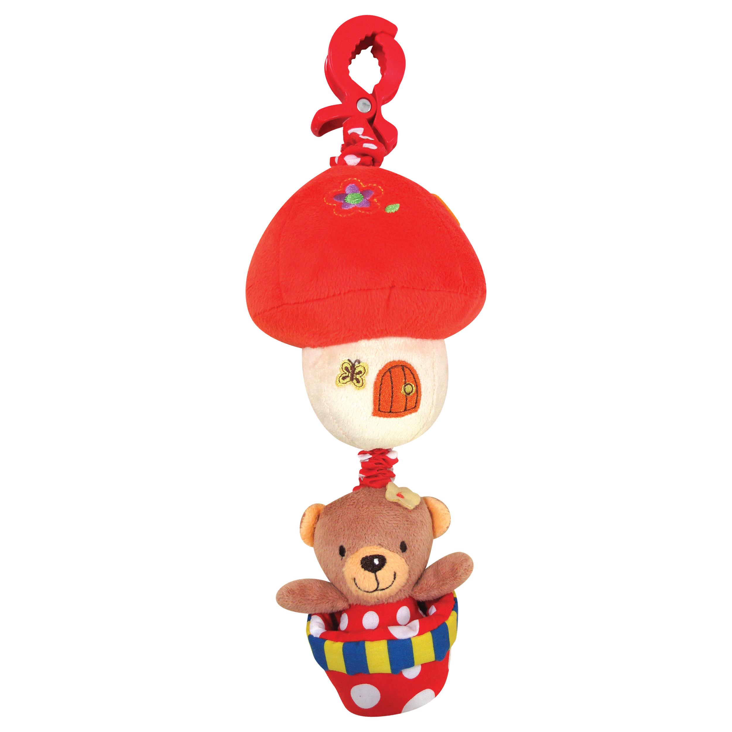 Jucarie bebelusi Noriel Bebe - Ursulet cu Ciupercuta