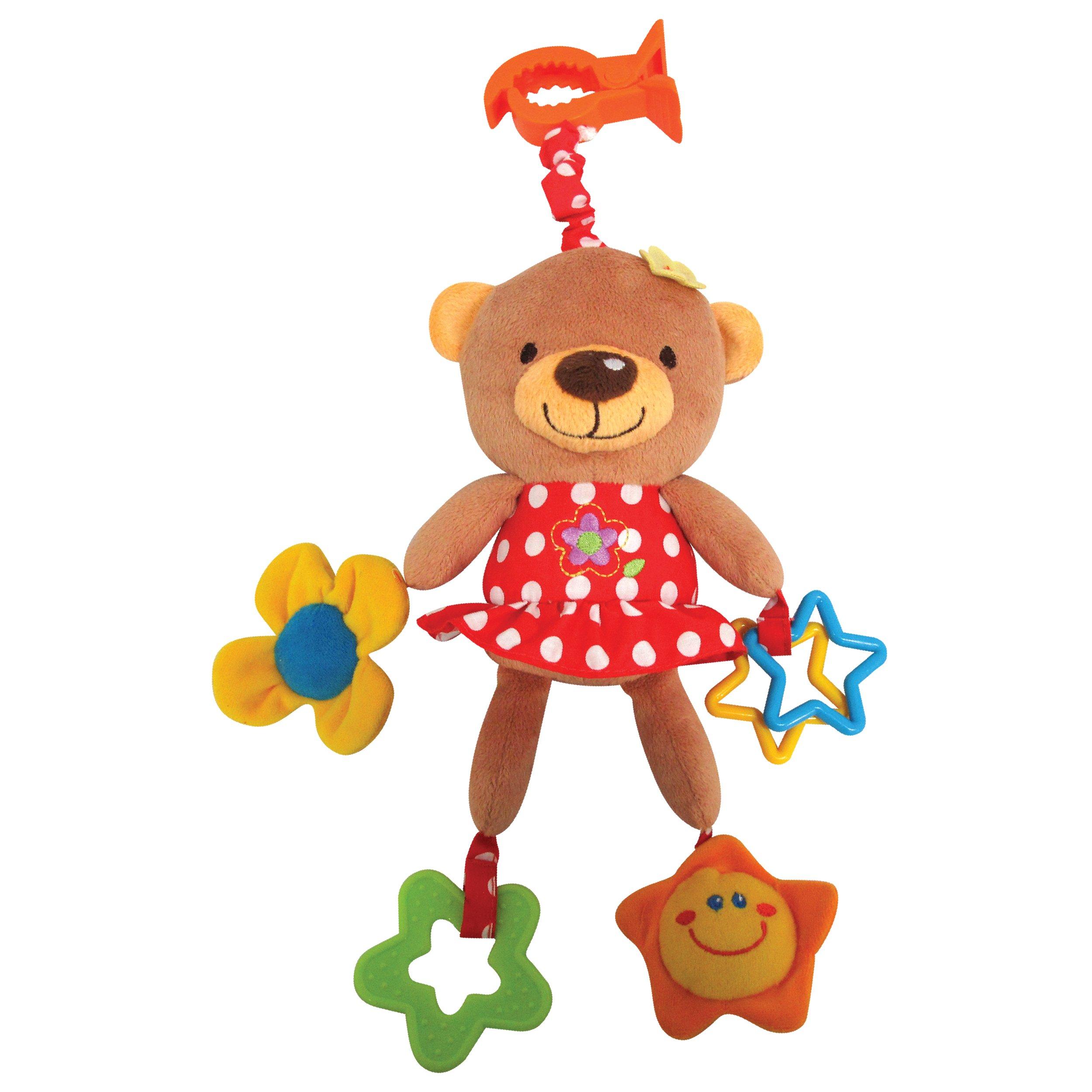 Jucarie bebelusi Noriel Bebe - Ursulet cu Flori