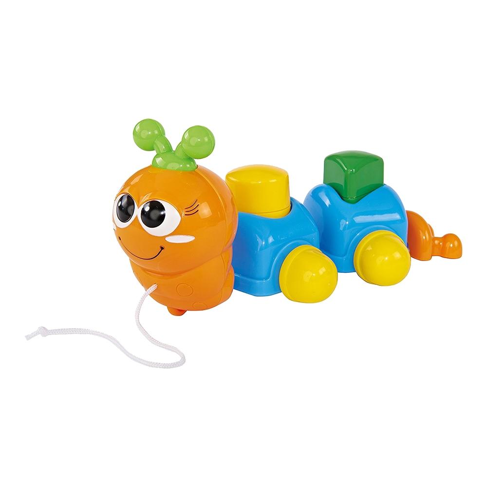Jucarie bebelusi Simba - Omiduta, portocaliu / bleu imagine