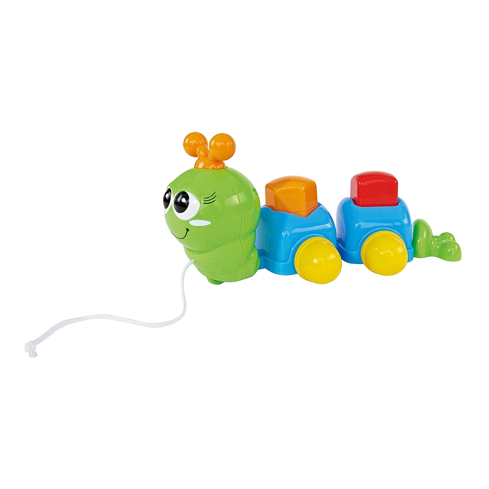 jucarie bebelusi simba - omiduta, verde / albastru