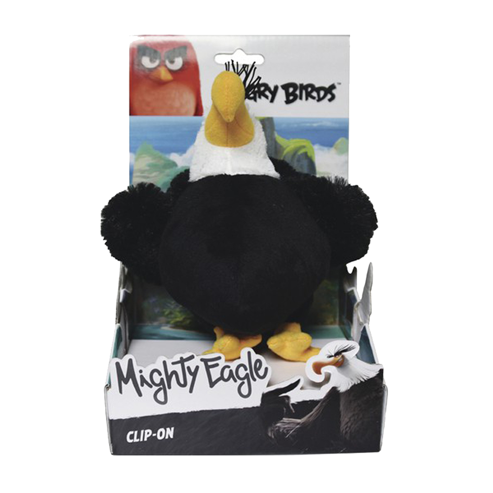 jucarie de plus angry birds - mighty eagle, 14 cm