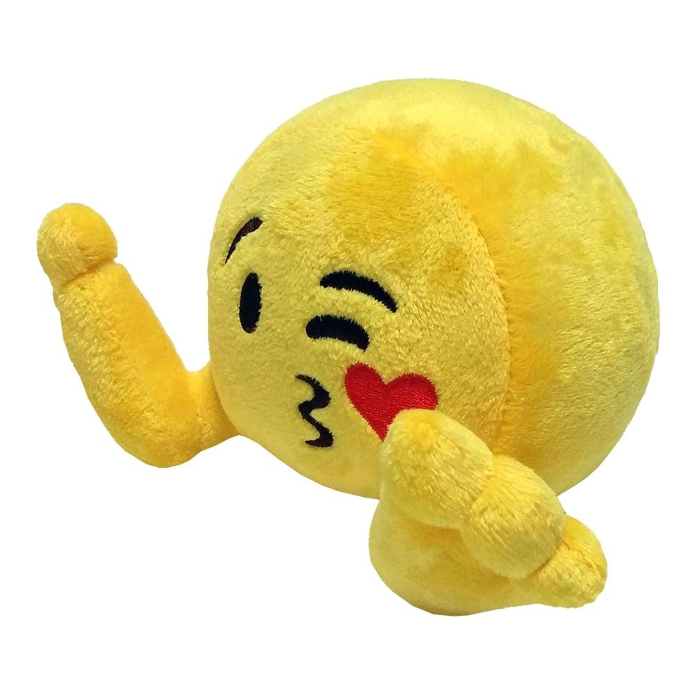 Jucarie de plus Emoji Plushiez - Kissandra, 35 cm