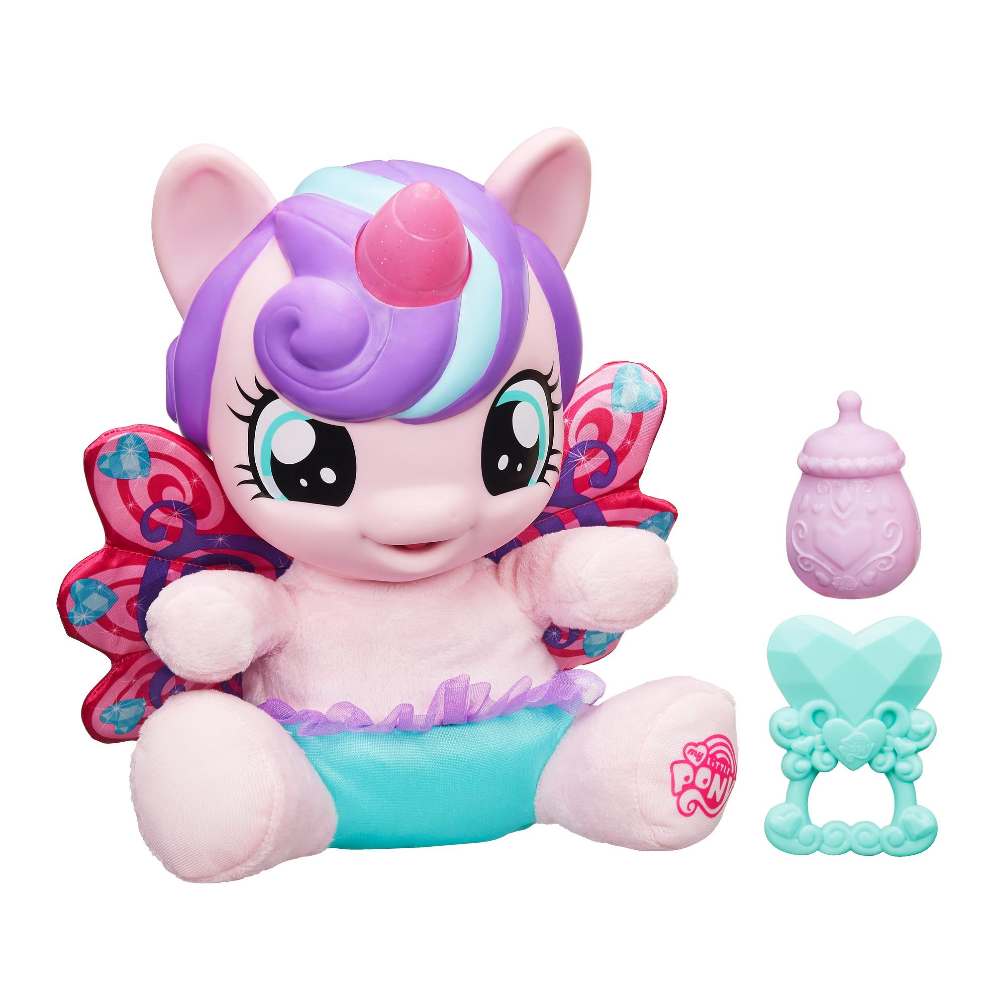 jucarie de plus interactiva my little pony - baby flurry heart