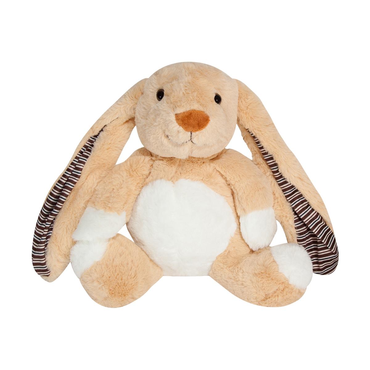 Jucarie de plus Noriel Plush - Iepuras maron, 28 cm