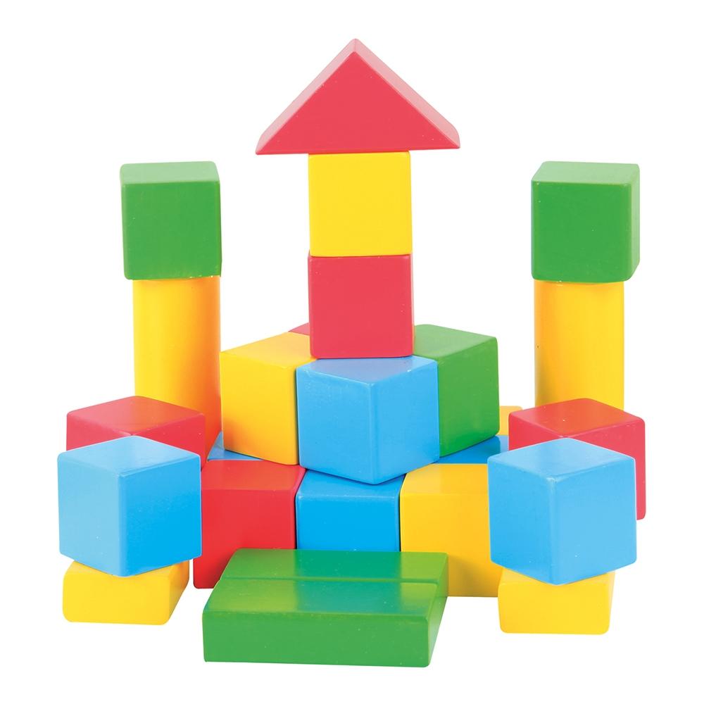 jucarie educativa beeboo - cuburi de constructie
