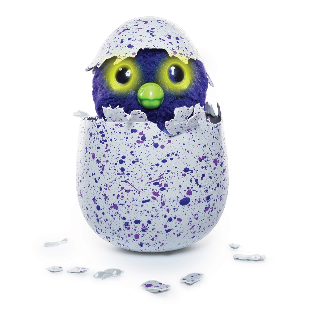 Jucarie interactiva Hatchimals - Dragonul mov