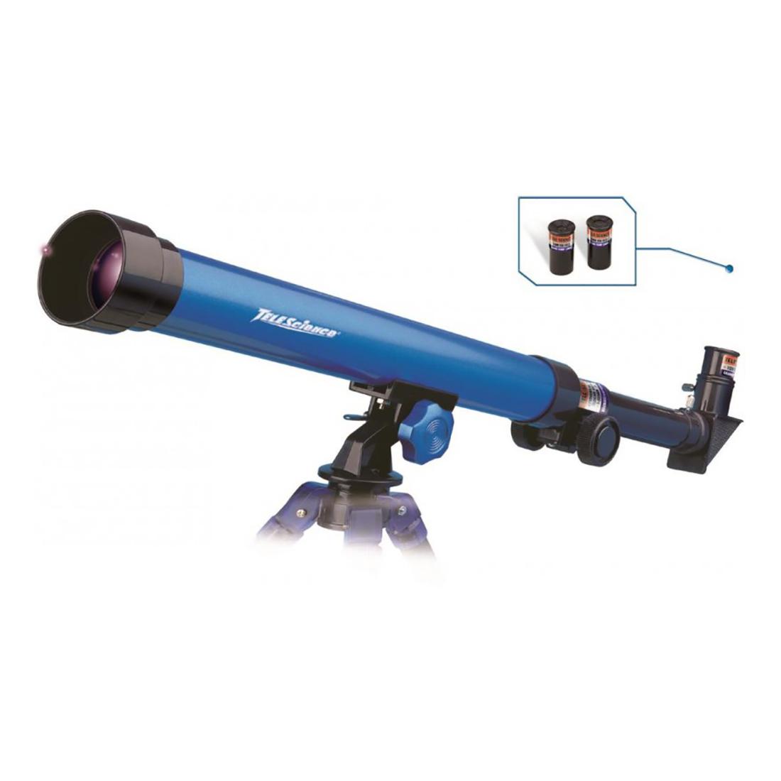 jucarie interactiva - telescop astronomic eastcolight 40 mm, 25/50x cu trepied