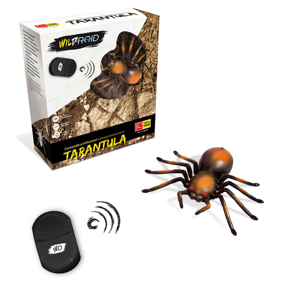 tarantula wildroid cu telecomanda