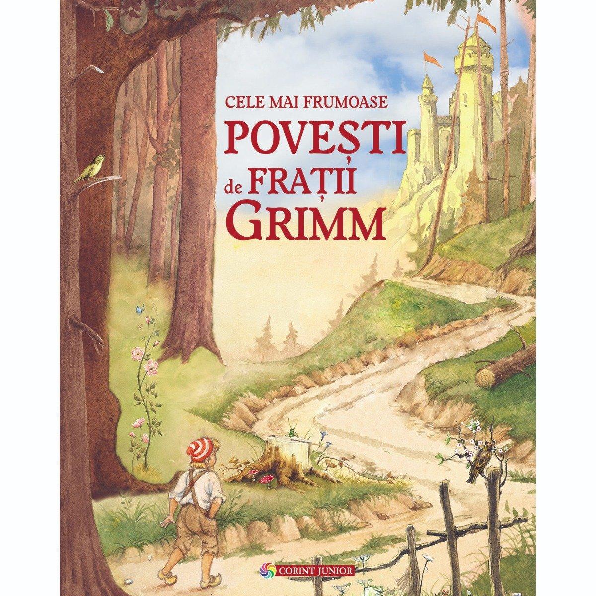 Carte Editura Corint, Cele mai frumoase povesti de Fratii Grimm imagine 2021