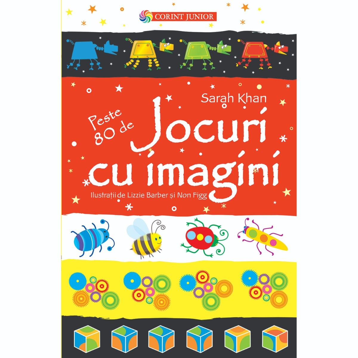 Carte Editura Corint, Jocuri cu imagini, Sarah Khan