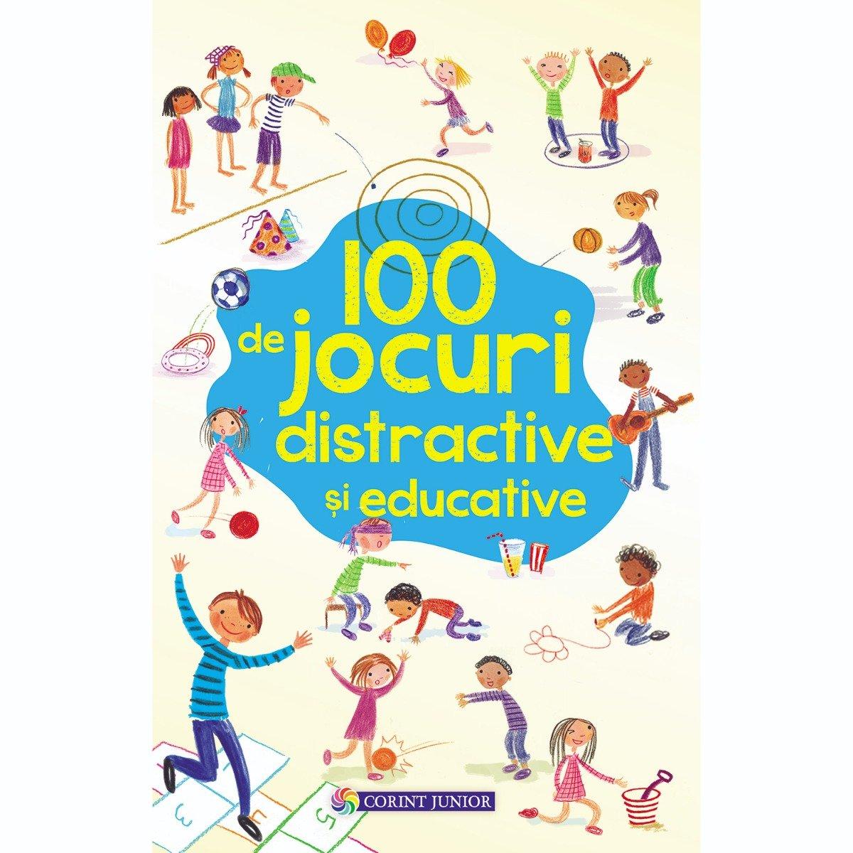 Carte Editura Corint, 100 de jocuri distractive si educative, Rebecca Gilpin