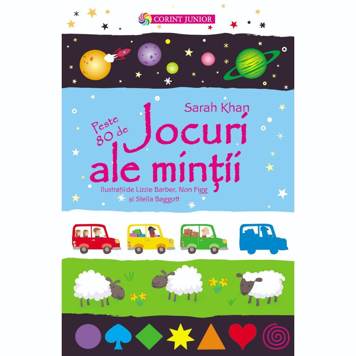 Carte Editura Corint, Jocuri ale mintii, Sarah Khan