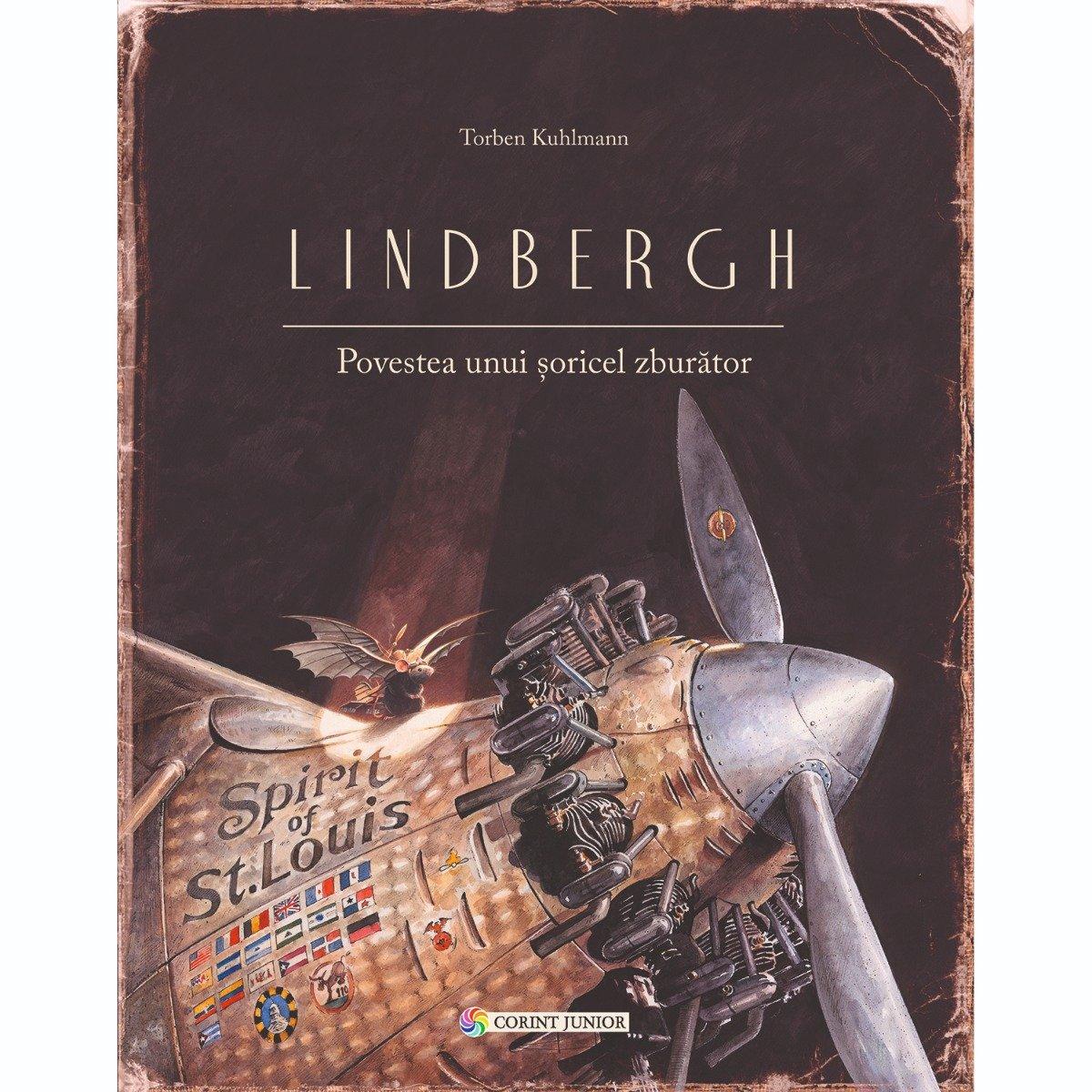 Carte Editura Corint, Lindbergh. Povestea unui soricel zburator, Torben Kuhlmann