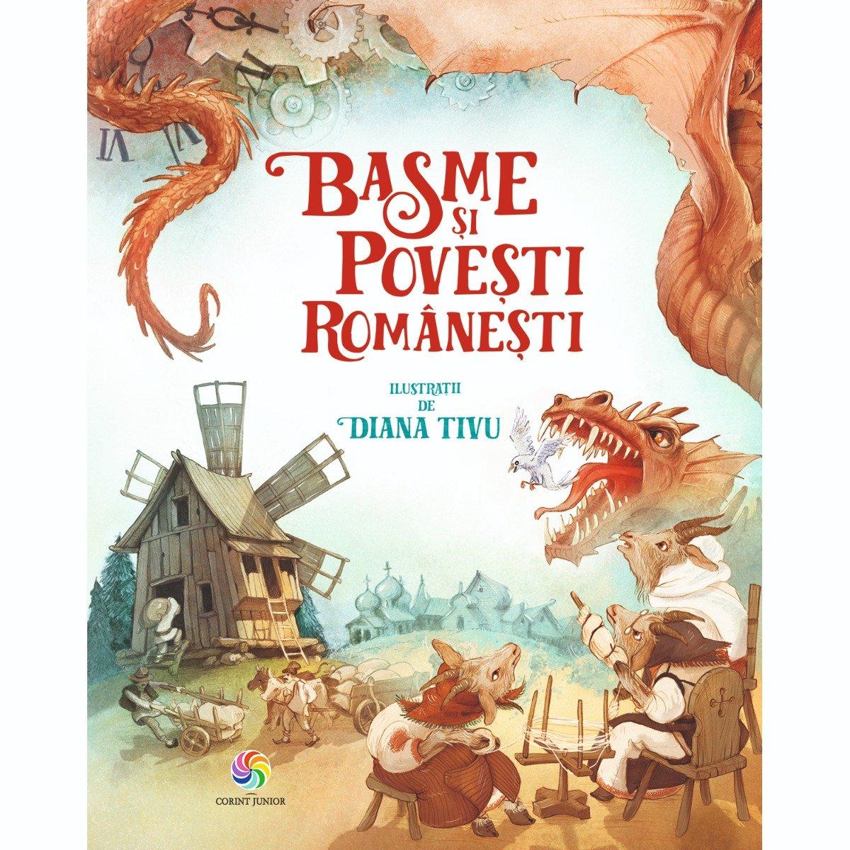 Carte Editura Corint, Basme si povesti romanesti