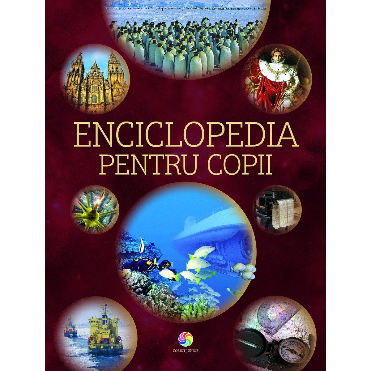 Carte Editura Corint, Enciclopedia pentru copii Crea Books, Laura Aceti, Marco Scuderi